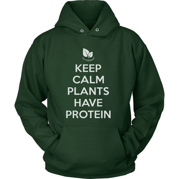 T-shirt - Keep Calm Plants Have Protein - Shirt