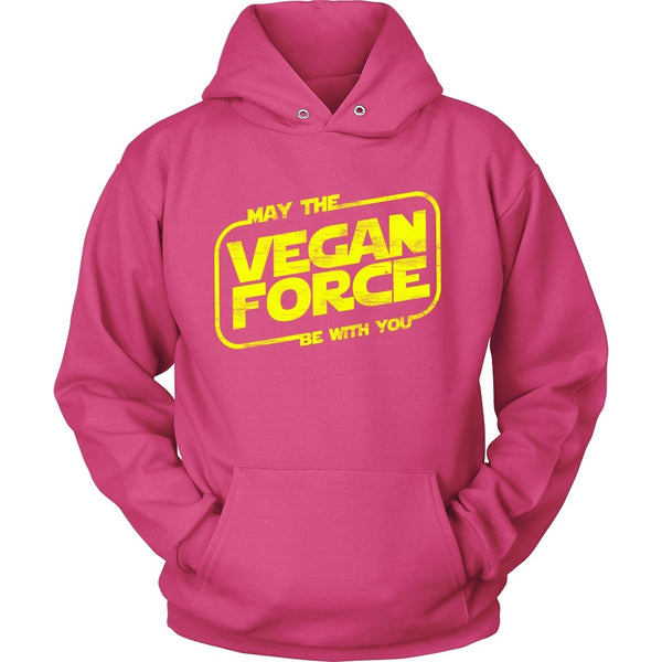 T-shirt - May The Vegan Force Be With You - Shirt