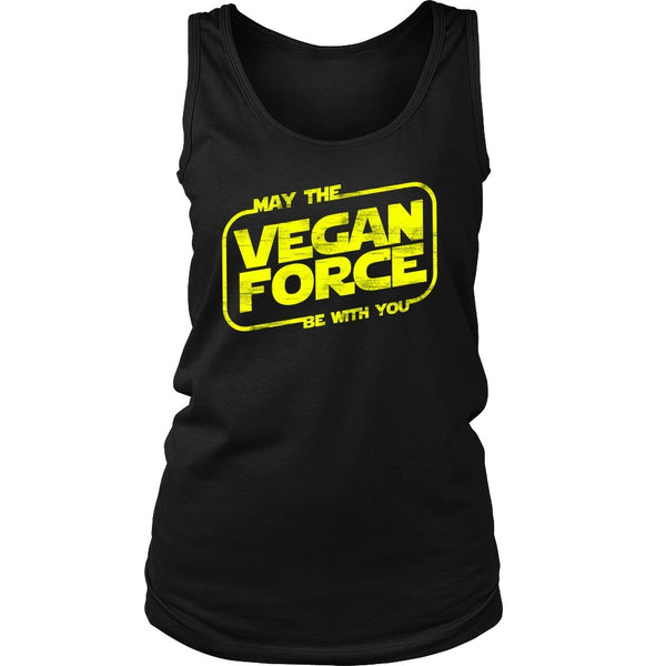 T-shirt - May The Vegan Force Be With You - Tank