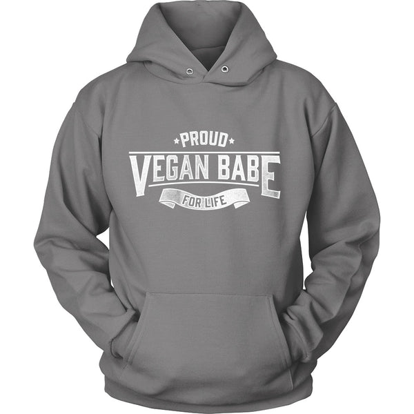 T-shirt - Proud Vegan Babe For Life
