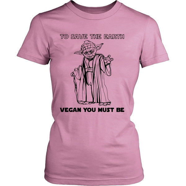 T-shirt - To Save The Earth, Vegan You Must Be - Shirt