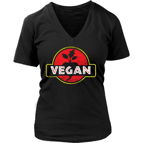 T-shirt - Vegan Roots - V-Neck
