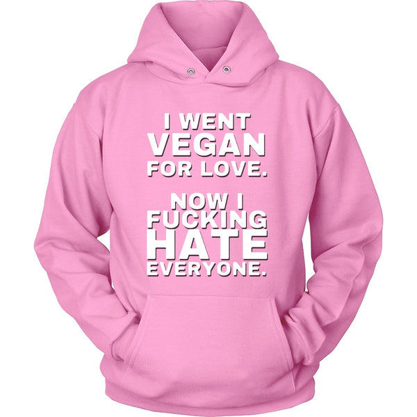 T-shirt - Went Vegan Now Hate Everyone - Shirt