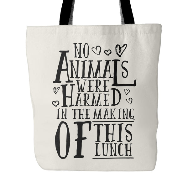 Tote Bags - No Animals Were Harmed - Tote Bag