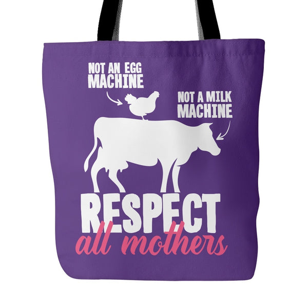 Tote Bags - Respect All Mothers - Tote Bag