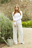 Classic Linen Trousers (Stone)