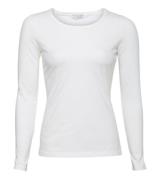 Longsleeve Stretch Top (white)
