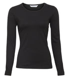 Longsleeve Stretch Top (black)