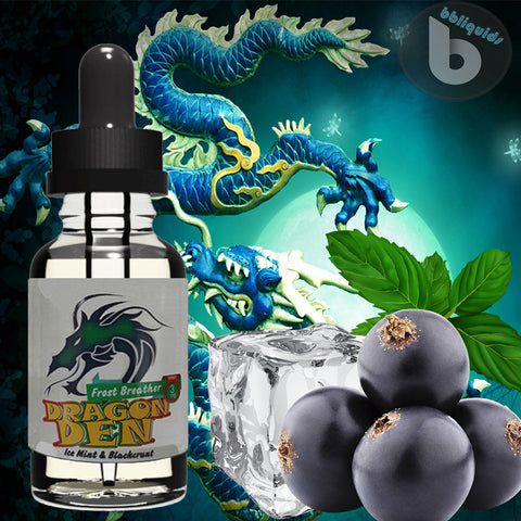 10ml DRAGON DEN - Frost Breather - 50VG - 3mg 6mg 11mg