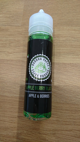 BUDDHA VAPES - APPLE BERRY BLAST 50ml SHORTFILL