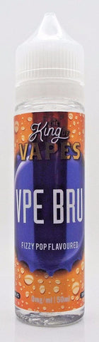 KING OF VAPES IRN BRU 50ML 0MG (+10ML NIC SHOT = 3MG)