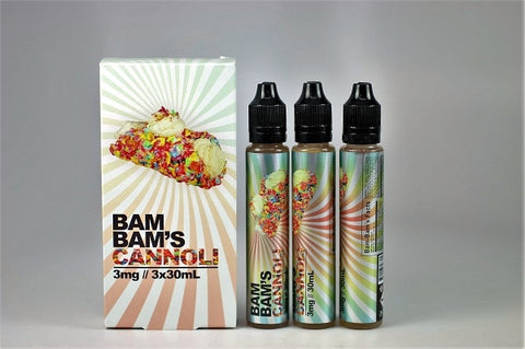 BAM BAM'S CONNOLI 30ML OR 90ML BOTTLE 3MG