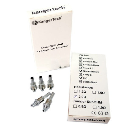 Kangertech Dual Coil 1.8ohm New Style