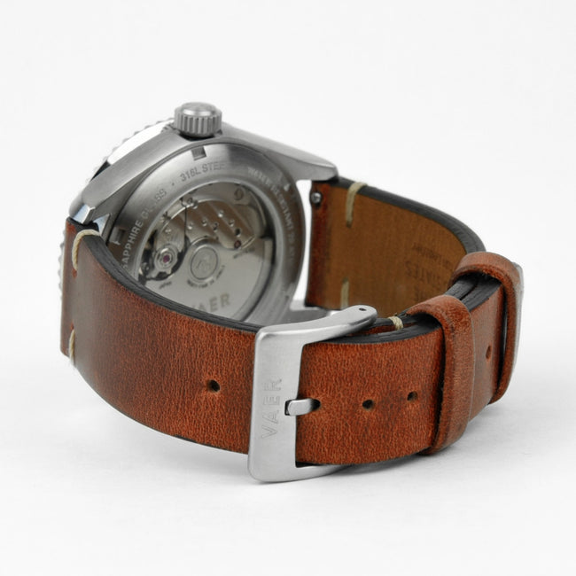 Lined Horween Leather Strap