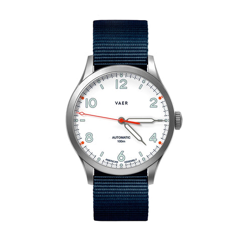 A5 | Design White USA Automatic | Pre-Order