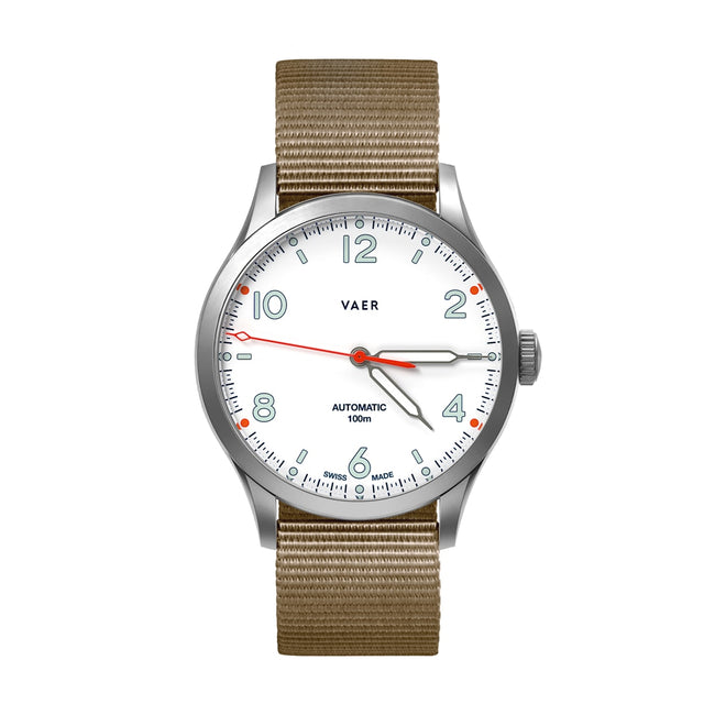 A7 | Design White Swiss Made