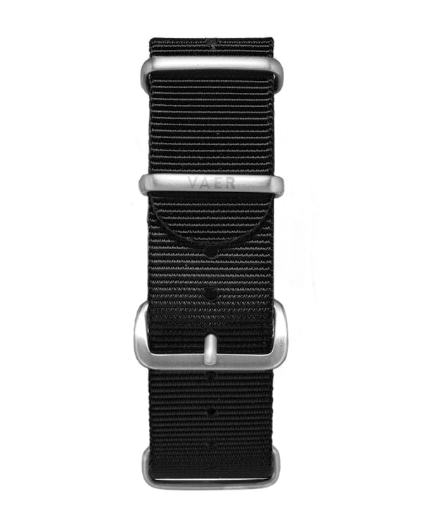 VAER Nylon Strap - Black