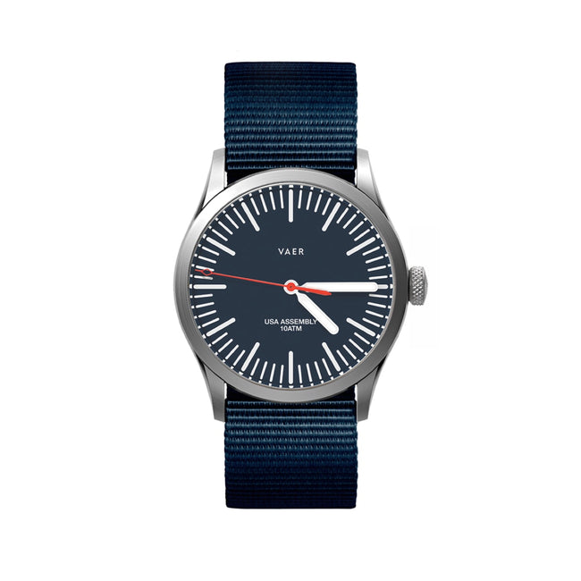 C3 | Classic Navy USA Quartz 36mm