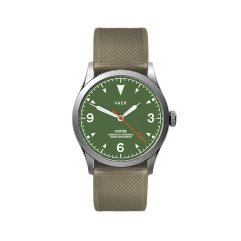 C3 | Tradition Green USA Quartz 36mm