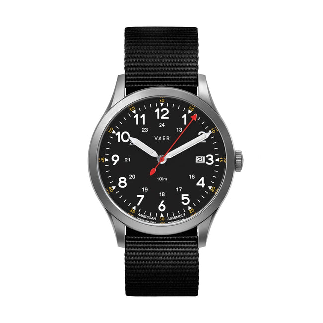 C5 | Field Black USA Quartz | Pre-Order