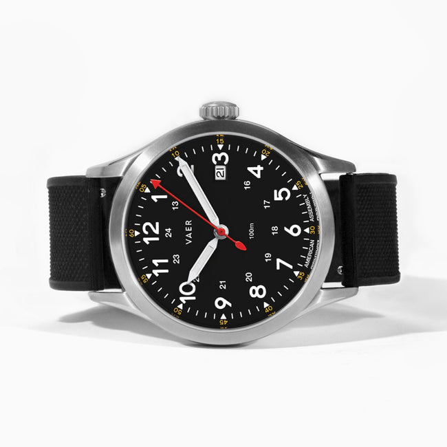 C5 | Field Black USA Quartz