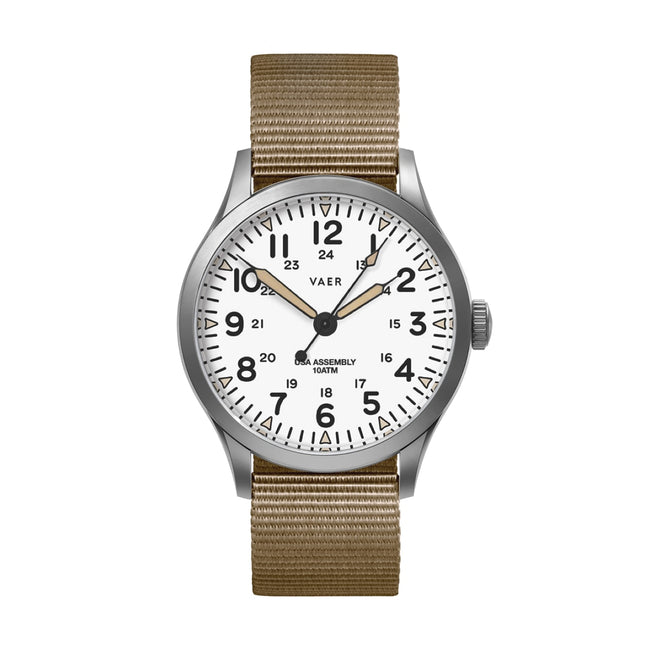 C5 | Field White USA Quartz | Pre-Order