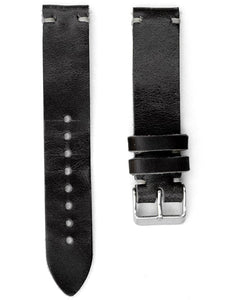 Quick Release Horween Strap - Black Leather *VIP*