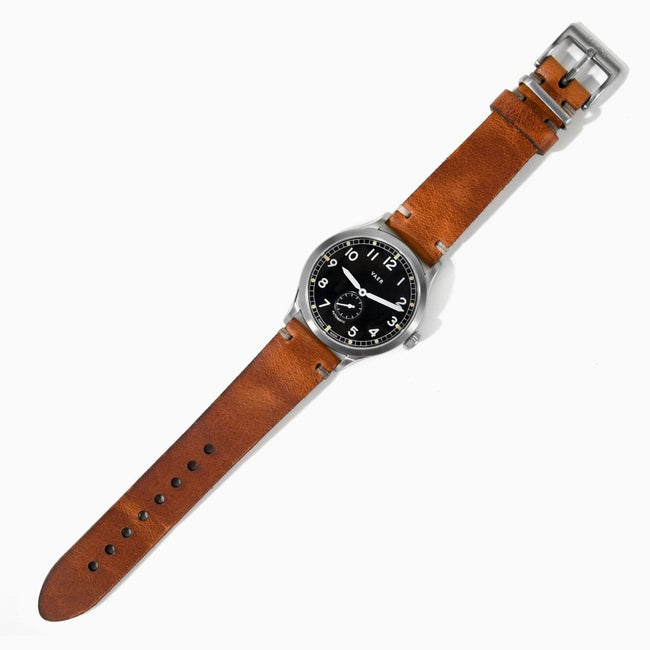 Unlined Horween Leather Strap - Tan