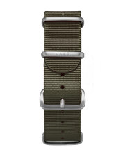 Single Pass Nylon Strap - Olive