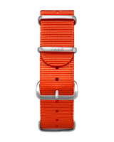 Single Pass Nylon Strap - Orange