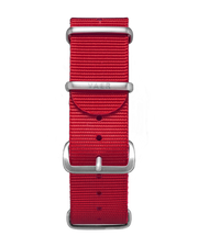 Single Pass Nylon Strap - Red