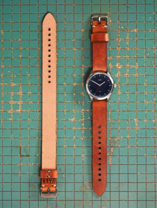 Single Pass Horween Strap - Brown Leather