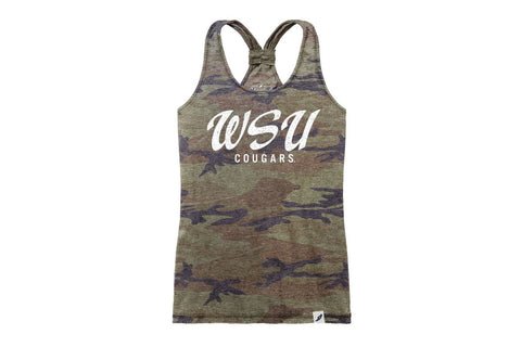 Women's Camo WSU Cougars Tank Top