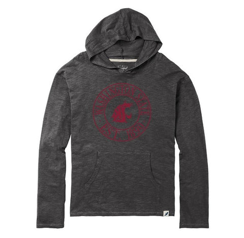 Men's Charcoal Grey Washington State EST. 1890 Hoodie