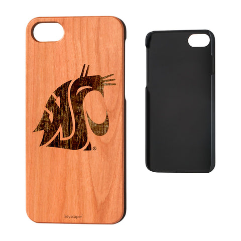 WSU Cougars Wood iPhone 7 Case