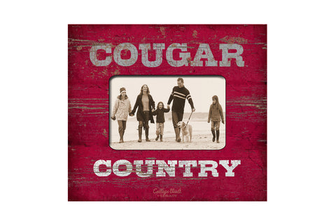 Cougar Country Wood Picture Frame