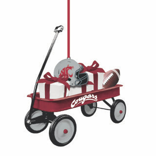 WSU Wagon Ornament