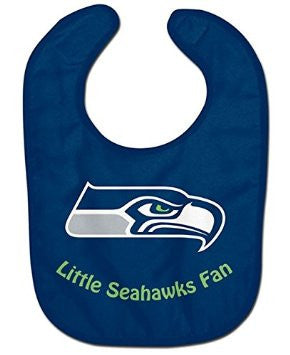 Little Seahawks Fan Mesh Baby Bib