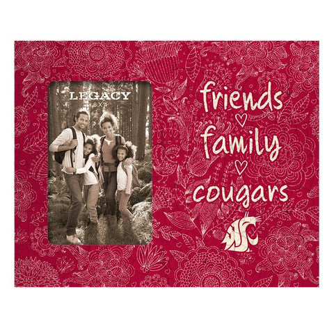 Friends, Family Cougars Picture Frame