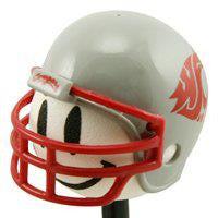 WSU Cougar Football Helmet Antenna Topper