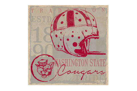 Washington State Vintage Football Tin Sign