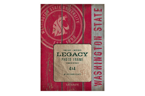 Washington State Long Wood Picture Frame