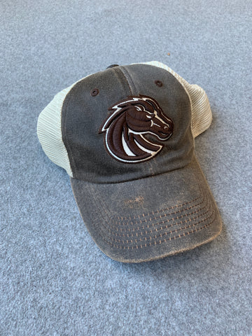 Mesh Brown Boise State Adjustable Hat