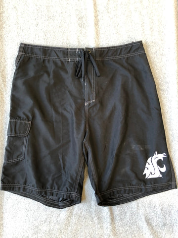 Black WSU Men's Boardshorts