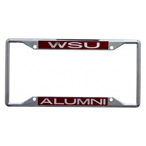 WSU Alumni License Plate Frame