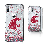 Cougars Confetti iPhone X/XS/XR Clear Case
