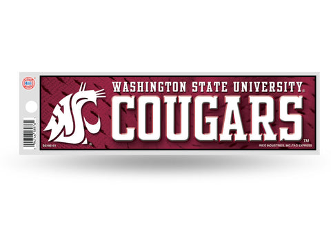 WSU Cougars Bumper Sticker