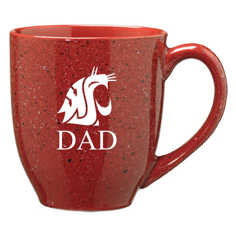 Crimson Speckle Dad Coffee Mug