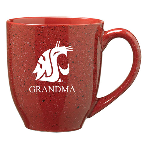 Crimson Speckle Grandma Coffee Mug