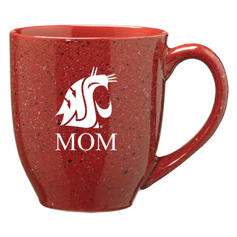 Crimson Speckle Mom Coffee Mug